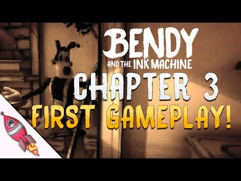 Bendy and the Ink Machine Chapter 3 FIRST PLAYTHROUGH  | Rockit Gaming