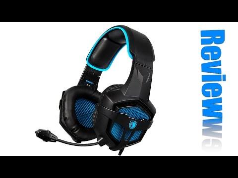 Sades SA-807 Gaming Headset: Review + Mic Test