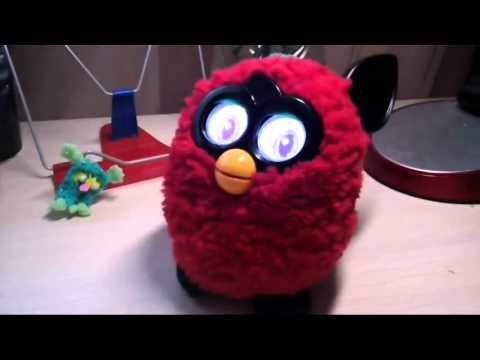 Как менять характер Furby?  Злой, псих и Т. Д.