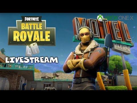 Mayhem in the New Map - Fortnite Battle Royale Gameplay - Xbox One X - Livestream