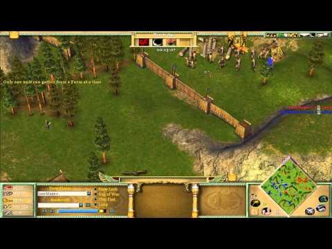 Mista vs Magic   Age of Mythology Game 2