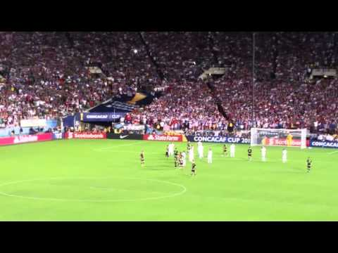 Mexico vs estados unidos rose Bowl Stadium