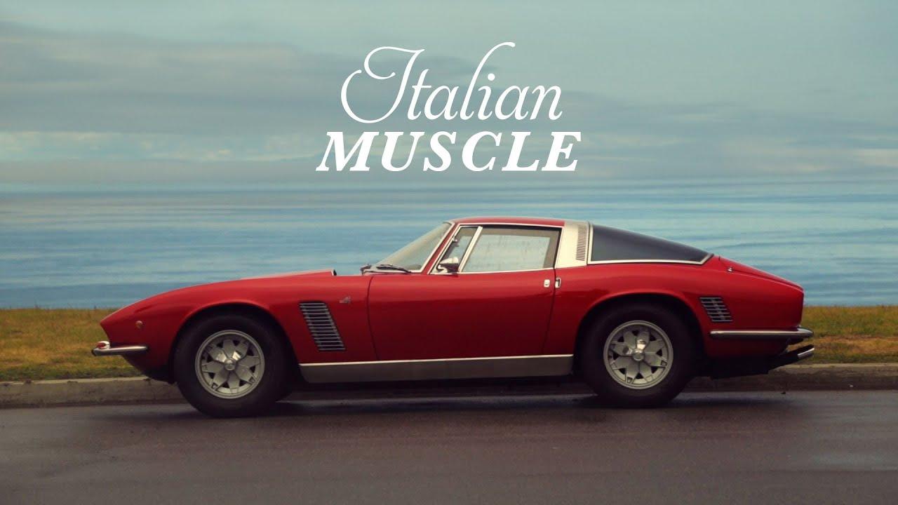 Iso Grifo Italian Muscle Youtube