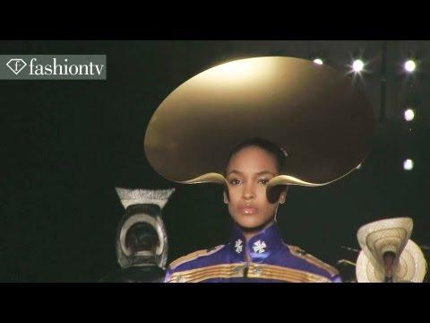 Couture, Michael Jackson Style: Philip Treacy Spring/Summer 2013 | London Fashion Week | FashionTV