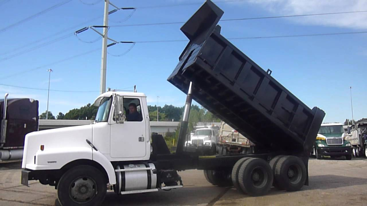 small resolution of 1999 volvo wg64t dump truck