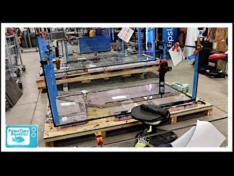 How Are Fish Tanks Made? Custom Aquariums Tour!