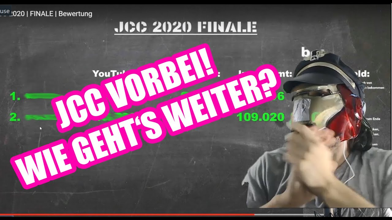 JCC Final Ergebnisse (JBB TEILNAHME?) + HORRORCAMP Reaction + NEUE SHOW