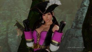 PS4『DEAD OR ALIVE 6』「七海海盜服裝Vol.2」實演影片