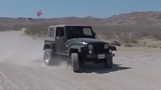 Desert Offroading in a Jeep JK and TJ.