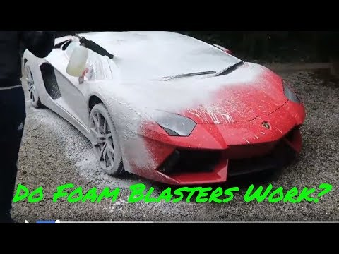 Trying Out the Highest Rated Foam Blaster!!