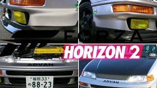 Forza Horizon 2 Honda CRX SIR Xbox One Montage