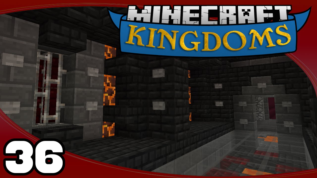 Kingdoms Ep 36 Nether Tunnel Design Youtube