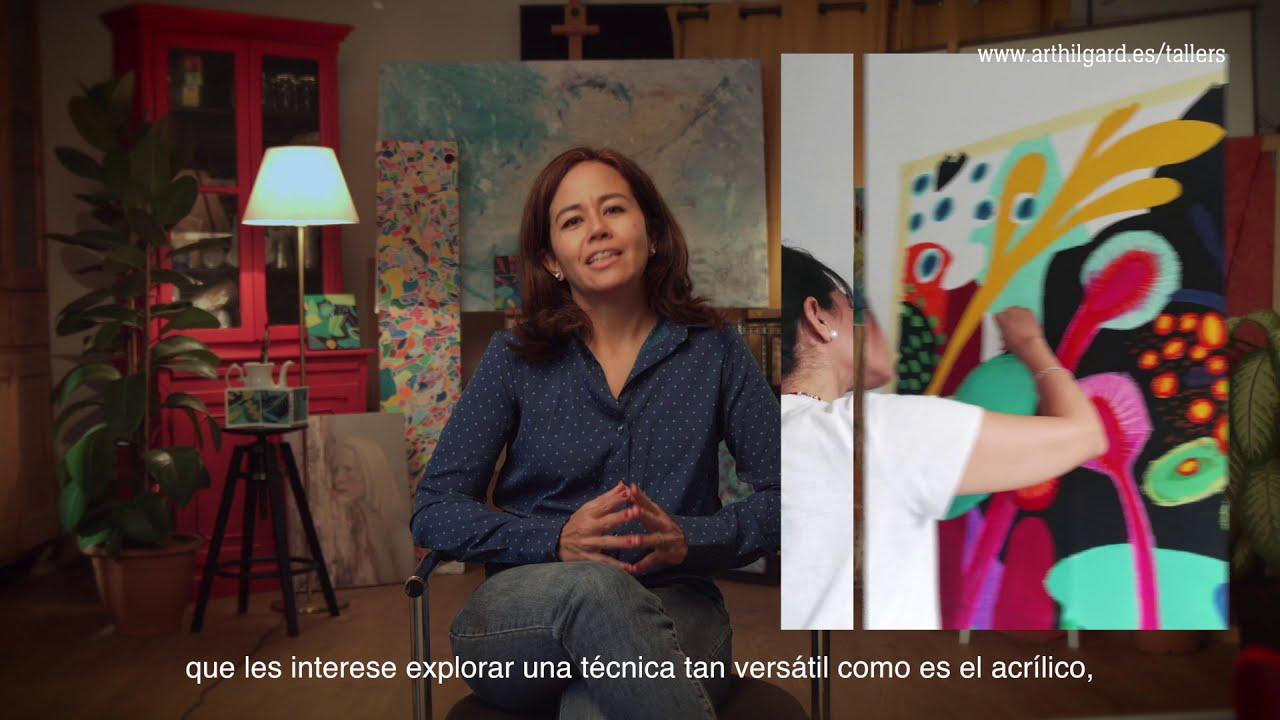 Taller de La Pintura Acrílica y sus Técnicas, los miércoles de 18h a 20h