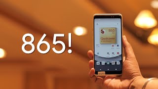 The First Snapdragon 865 Phone!
