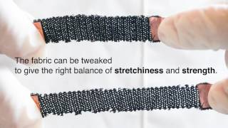 Knitting and weaving artificial muscles