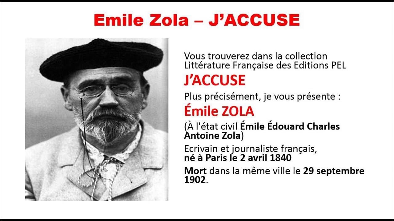 7 Februari dalam Sejarah: Ungkap Skandal Militer Prancis, Novelis Emile Zola Diseret ke Pengadilan