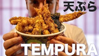 Japanese Tempura, and Martina's Tempura-tantrum