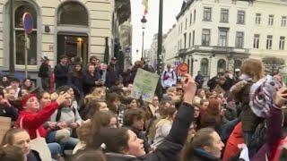 Sans frontières - Les jeunes Belges très mobilisés pour le climat