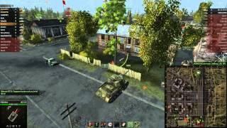 Обзор танка ИСУ-152. бр-р-р страшная машина !!!