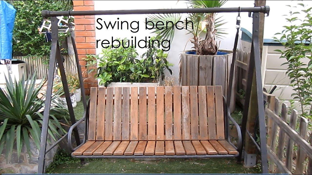 swing bench rebuild