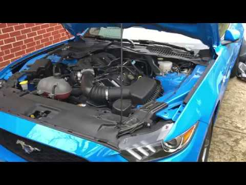 Replace Mustang Engine Air Filter