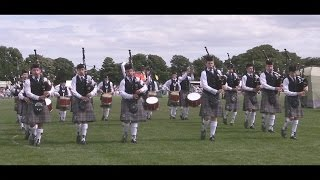Boghall & Bathgate Caledonia Juvenile Pipe Band At North Berwick 2015