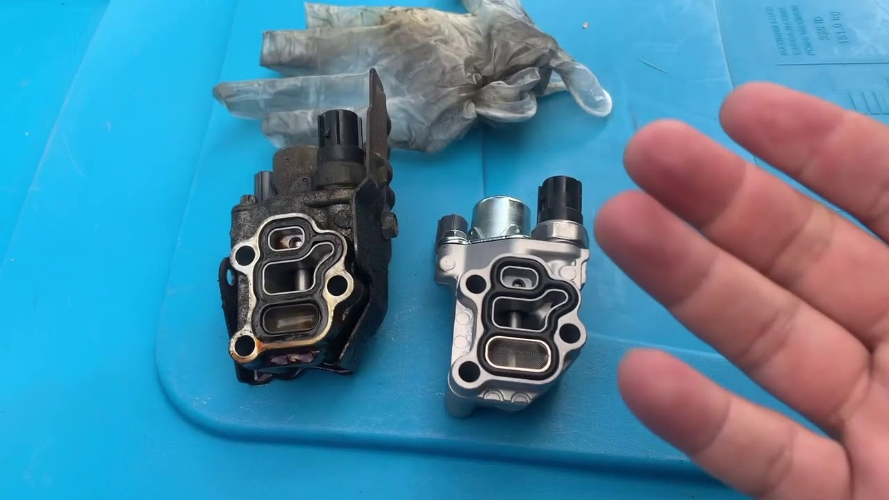 2006 Honda element Vtec Solenoid replacement and location fixes bucking  issue