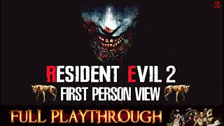 Resident Evil 2 REmake【1st Person View】Longplay Walkthrough No Commentary Full HD 1080P/60FPS