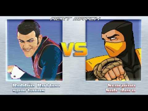 Mugen Battle Mania #80 - Robbie Rotten, Sportacus Vs Sub-Zero and Scorpion