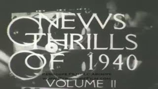 OFFICIAL FILMS NEWSREEL 1940 Vol. 2 FDR RE-ELECTED TO THIRD TERM 8473