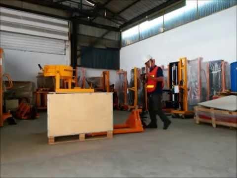 รถยกของ, รถลากพาเลท, 5ตันงากว้าง Hand pallet truck  HP5000L HECKER