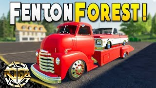 NEW MAP : FENTON FOREST : CHEVY RAMP TRUCK COE  - Farming Simulator 19 Gameplay - EP 1