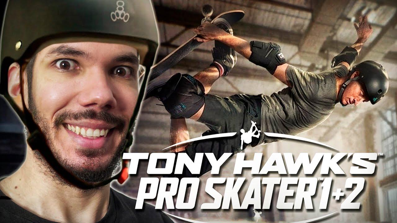 TONY HAWK'S PRO SKATER 1 + 2 : GAMEPLAY da NOSTALGIA | Demo do Armazém (Warehouse)
