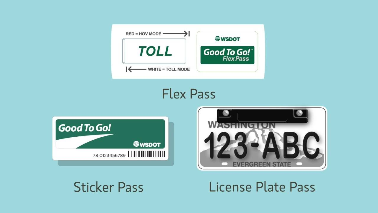Good To Go Washington >> Payment Options For I 405 Express Toll Lanes Youtube