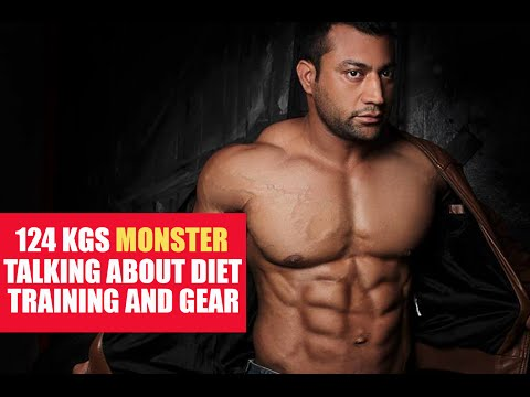 Fitness tips from 124 kg Indian monster - Hindi