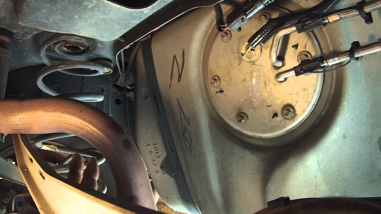 how to change the fuel pump in a mercury grand marquis