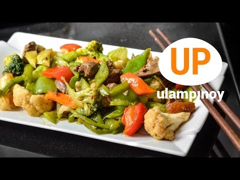 CHOPSUEY (Vegetable Stir-fry) — Ulam Pinoy #28【HD】