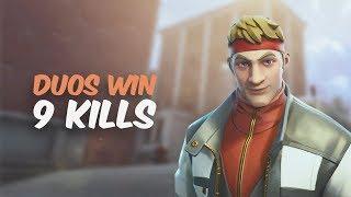 FORTNITE DIRE SKIN WIN! (Fortnite Battle Royale Duos Gameplay)