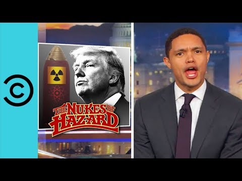 A Homemade Trump-Proof Nuclear Briefcase | The Daily Show