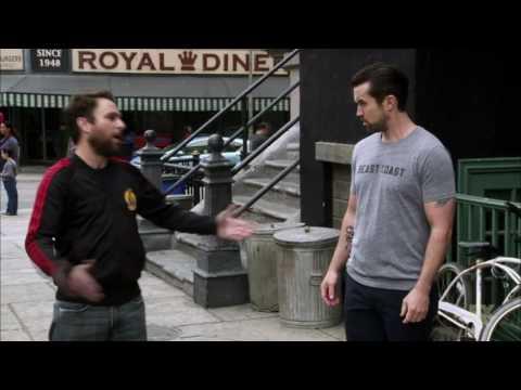 Charlie steps in dog shit