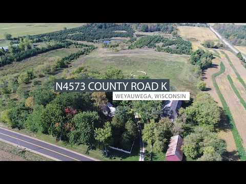 Country Home & Hobby Farm with Acerage for sale Waupaca County WI