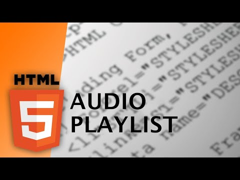 HTML - Audio Playlist