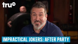 Impractical Jokers: After Party - Q's Unusual Blouse | truTV