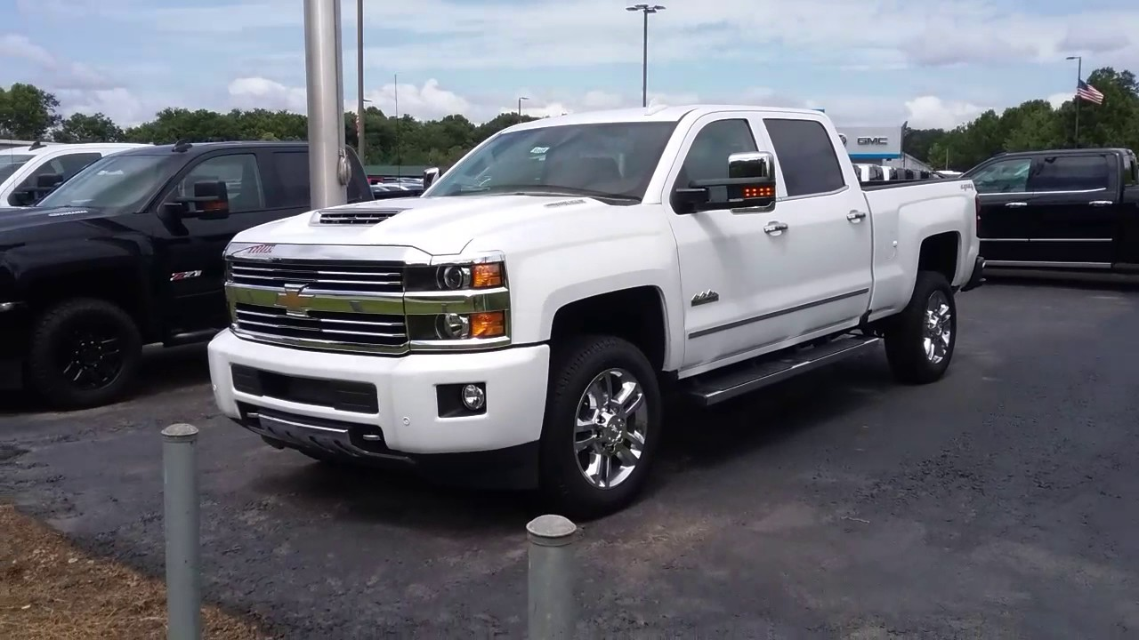 Your 2017 Chevrolet 2500 High Country