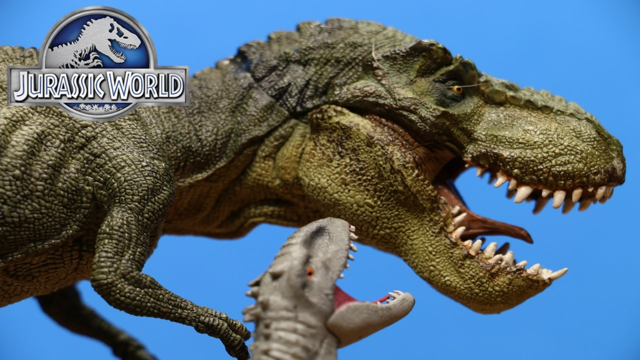 Papo The Dinosaur Figure Green Running T-Rex