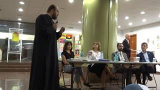 Părintele Necula la dezbaterea USR privind familia tradiţională 1
