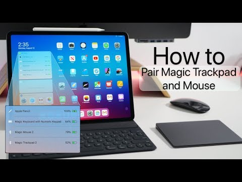 How to use a Magic Mouse, Keyboard and TrackPad with iPadOS (Video)
