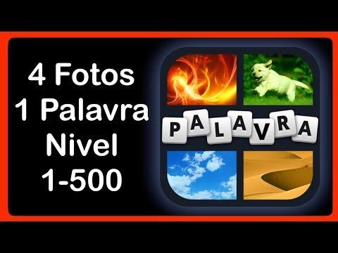 4 Fotos 1 Palavra - Nível 1-500 [HD] (iphone, Android, iOS)