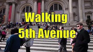 ⁴ᴷ Walking Tour of Upper East Side & East Harlem, Manhattan, NYC - 5th Avenue
