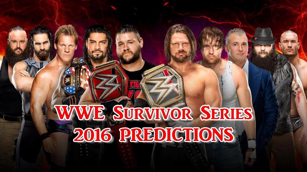 Image result for wwe survivor series 2016 team raw vs team smackdown